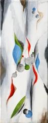 Marianne Scholtes, Jeu de Formes, Acrylic on Canvas, 20''x8'' image