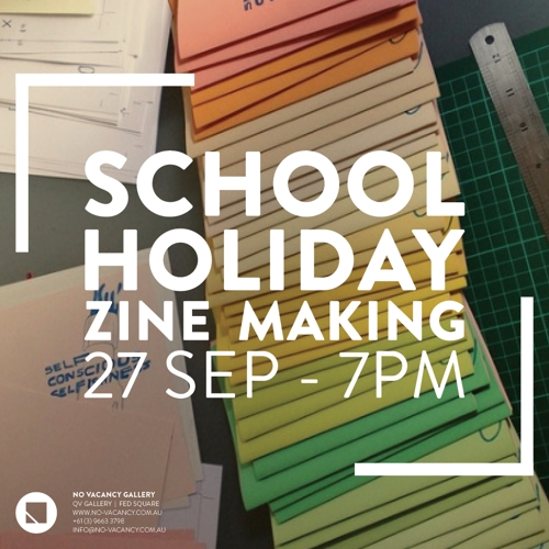 Zine Making Workshop with Alice Kazam image
