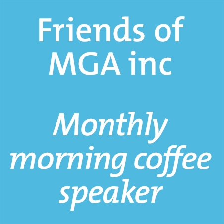 Friends of MGA morning coffee | Jason Smith, Geelong Gallery image