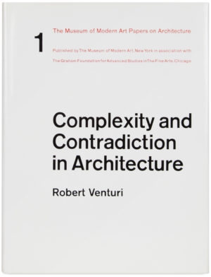 "Symposium to Mark the 50th Anniversary of Robert Venturi's ""Complexity and Contradiction in Architecture"" image"