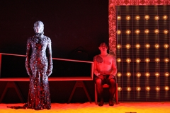 Scene from the ELISION production of The Navigator, an opera composed by Liza Lim, to a  libretto by Patricia Sykes, directed by Barrie Kosky. Photo by Justin Nicholas (2008). image
