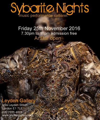 Sybarite Nights  25th November image