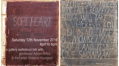 Gallery Talk: Adrian Rifkin responds to Vivienne Koorland 'Soft Heart' image