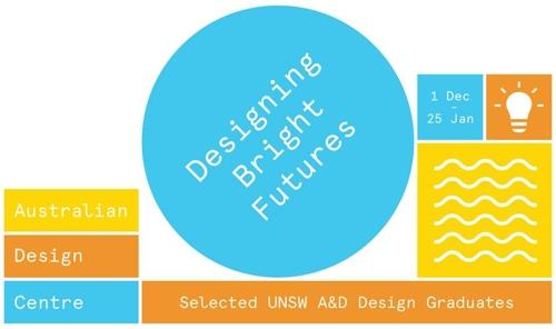 Australian Design Centre | Invitation for Designing Bright Futures: Selected UNSW A&D Design Graduates 2016 image