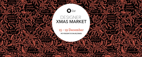 No Vacancy Designer Christmas Market image