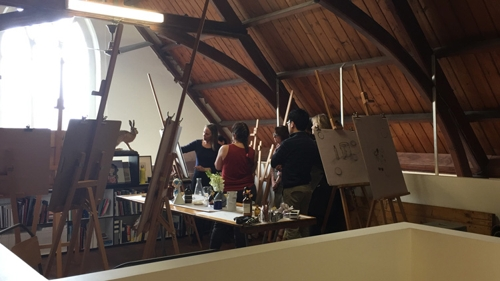 Michelle Zuccolo drawing workshop image