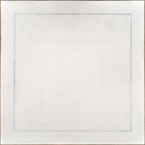 Two White Squares on White image