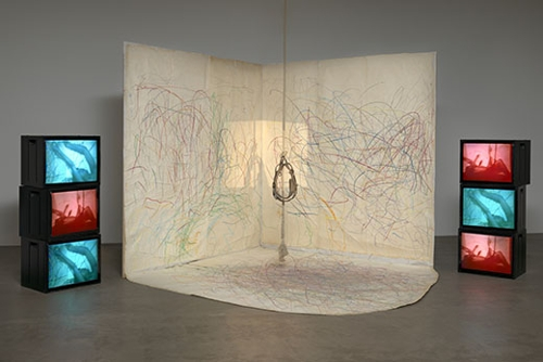 Carolee Schneemann: Kinetic Painting image