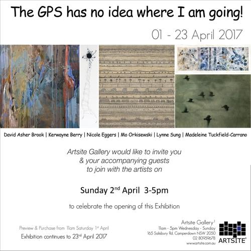 Exhibition: The GPS has no idea where I am going! image
