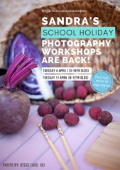 School Holiday photography workshop (8-12yr olds) with Sandra Davis image
