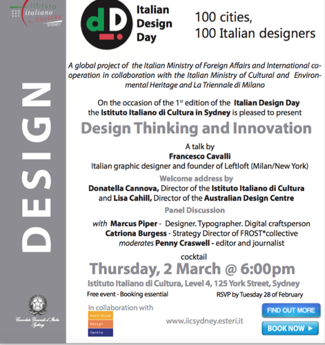 Italian Design Day - 100 Cities, 100 Italian Designers image