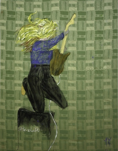 ARTIST TALK  – Jenny Watson image