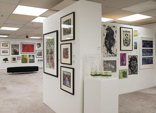 Installation image Gippsland Print Award 2015 image