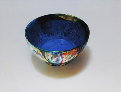 Still Life: Artist's Bowl, French Ultramarine image