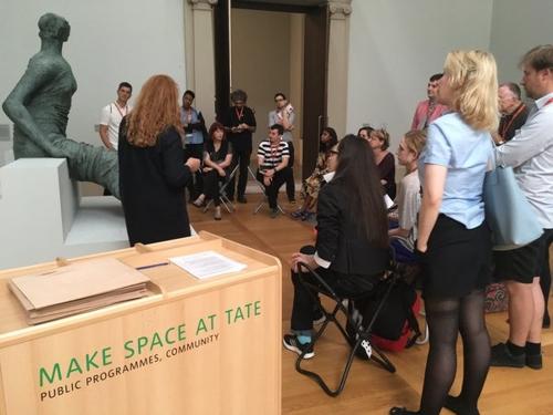 Make Space At Tate image