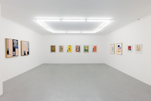 Pulp Fiction, installation view. image