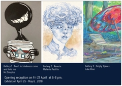 New Exhibitions Opening at BlackCat Gallery, Collingwood image