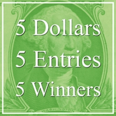 "5 Dollars, 5 Entries, 5 Winners! – ""Special"" Art Competition Announced image"