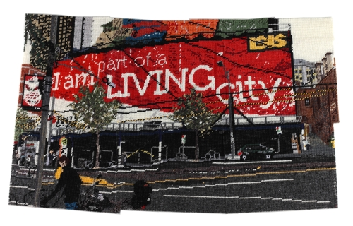 I am part of a LIVING city image