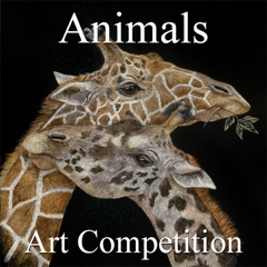 """9th Annual """"Animals"""" Online Art Competition image"""