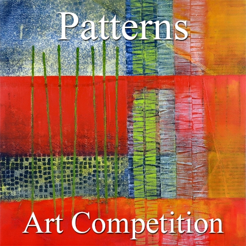 "Call for Art - 3rd Annual ""Pattersn, Textures & Forms"" Online Art Competition image"