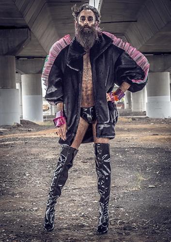 "Gun Shy 'Circe de Merde AW18 ""I'm Ready"" Jacket' image"