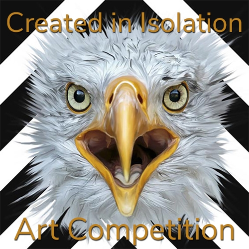 """Created in Isolation"" Online Art Competition image"