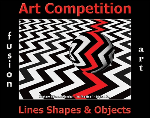 2nd Annual Lines, Shapes & Objects Art Competition image