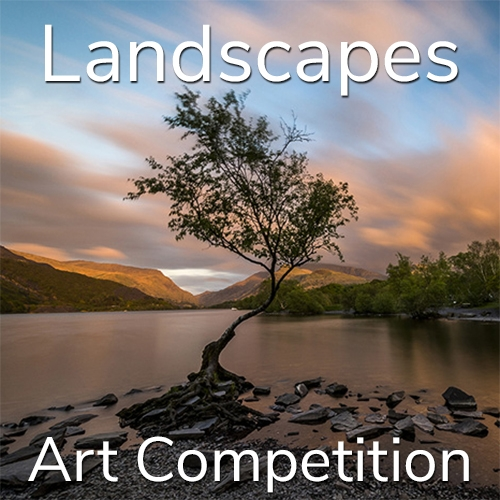"10th Annual ""Landscapes"" Online Art Competition image"