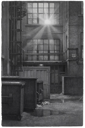 Sunlight in a Laneway image