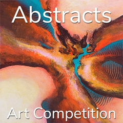 """12th Annual """"Abstracts"""" Online Art Competition image"""