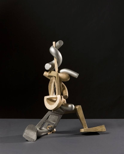 Attila Mata, Date, Stainless Steel, Bronze, 20.5 x 17 x 8 image