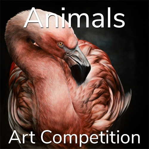 "Call for Art – 11th Annual ""Animals"" Online Art Competition image"