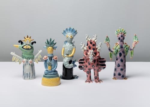 Ceramic Artist Vipoo Srivilasa presents Wellness Deity  at Linden New Art image