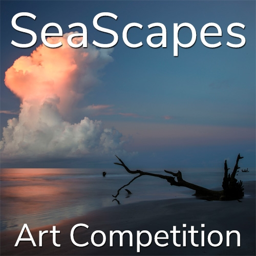 """Call for Art – 11th Annual """"SeaScapes"""" Online Art Competition image"""
