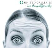 United Galleries logo