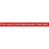 Pop and Contemporary Fine Art logo