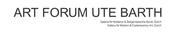 Art Forum Ute Barth logo