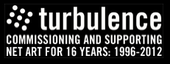 Turbulence Net Art Commissions logo
