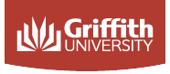 Griffith University Art Gallery logo