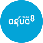 Agua8 Art Rooms logo