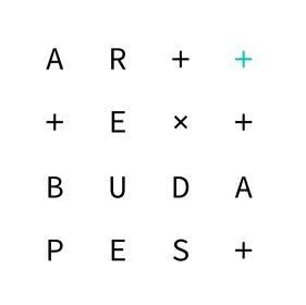 ART+TEXT Budapest logo