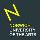 East Gallery at Norwich University of the Arts (NUA) logo