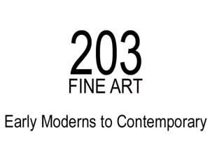 203 Fine Art logo
