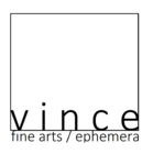 VINCE fine arts/ephemera logo