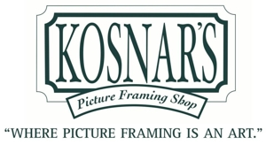 Kosnar's Picture Framing and Mirror Shop logo