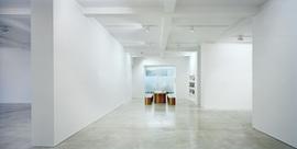Parasol unit foundation for contemporary art  photo
