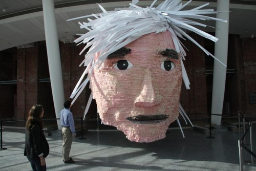 Andy Warhol Dessert Pinata. Photo by Adam Husted image