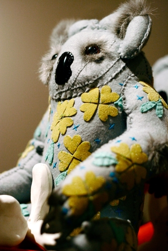 Lori Kirk's disturbing tourist artefacts image
