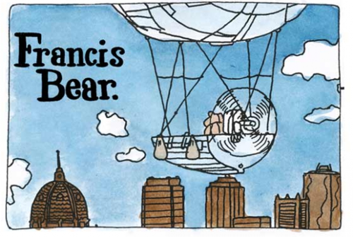 Francis Bear New Graphic Novel by Gregory Mackay  image